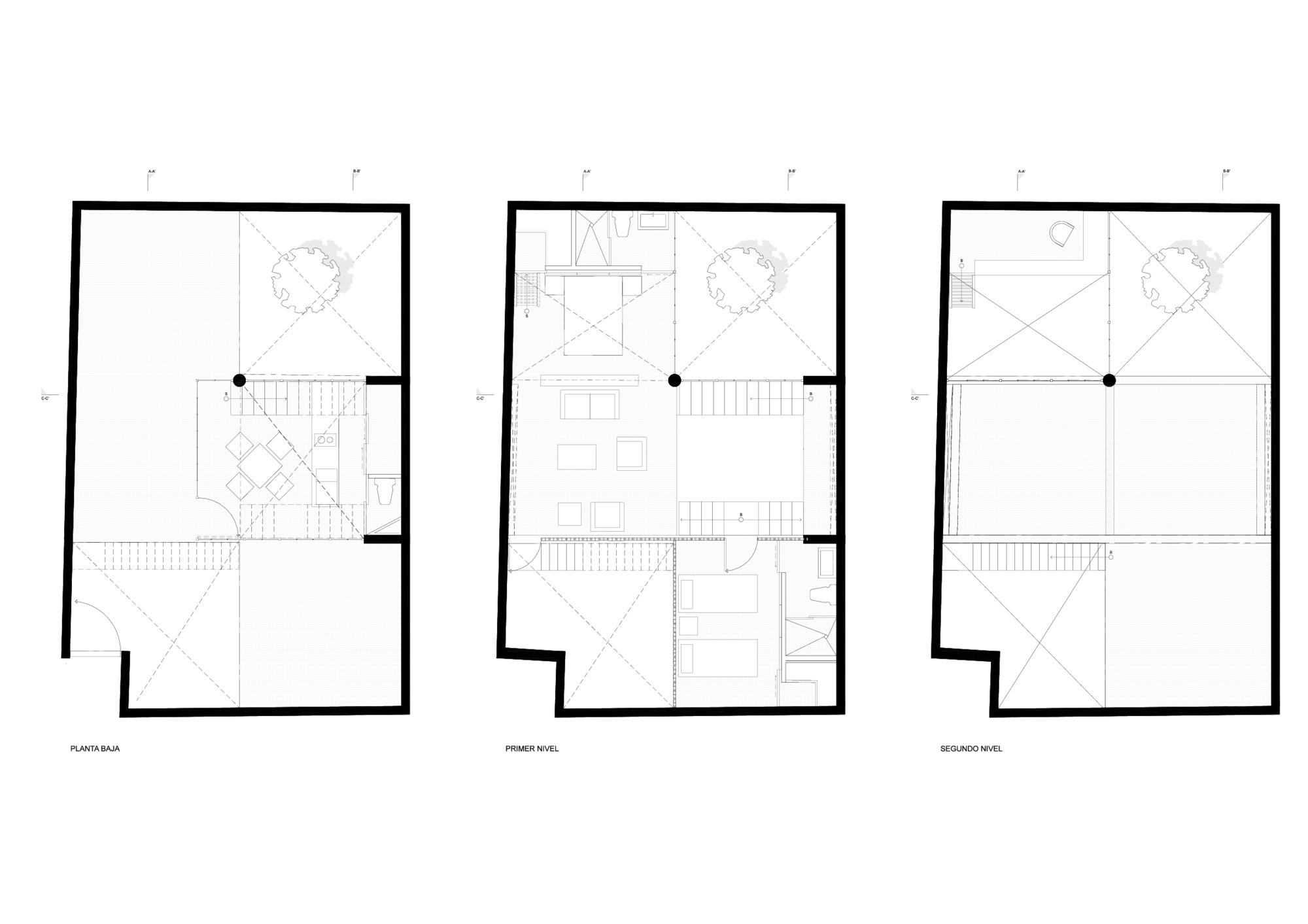 gallery of casa murray diseño espacial 18