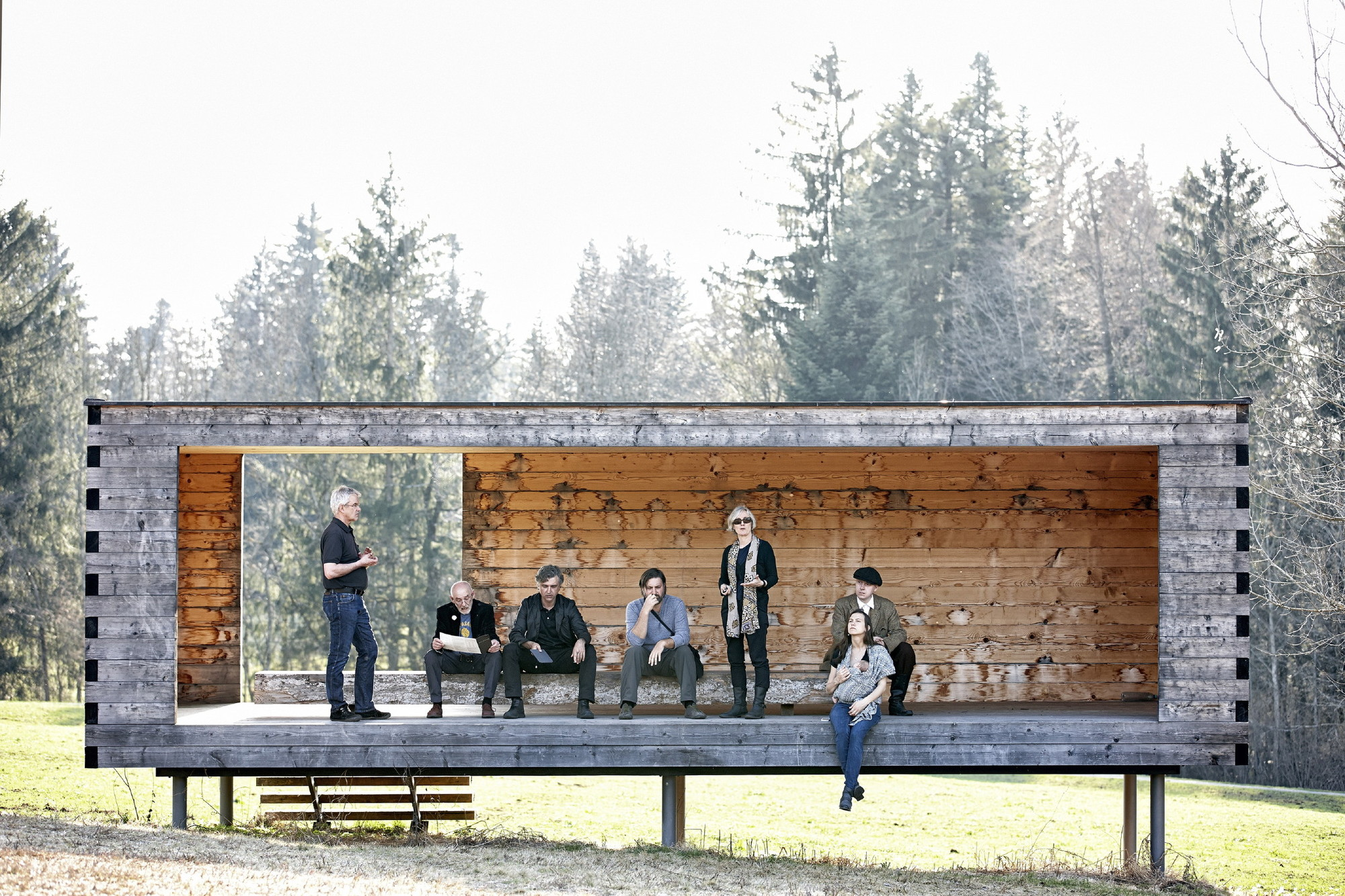 BUS:STOP Krumbach: 7 architects, 7 buildings, 7 statements, © Adolf Bereuter