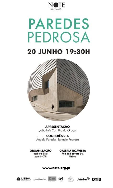Inauguração da exposição PAREDES PEDROSA na Galeria Boavista, Cortesia de note.org.pt
