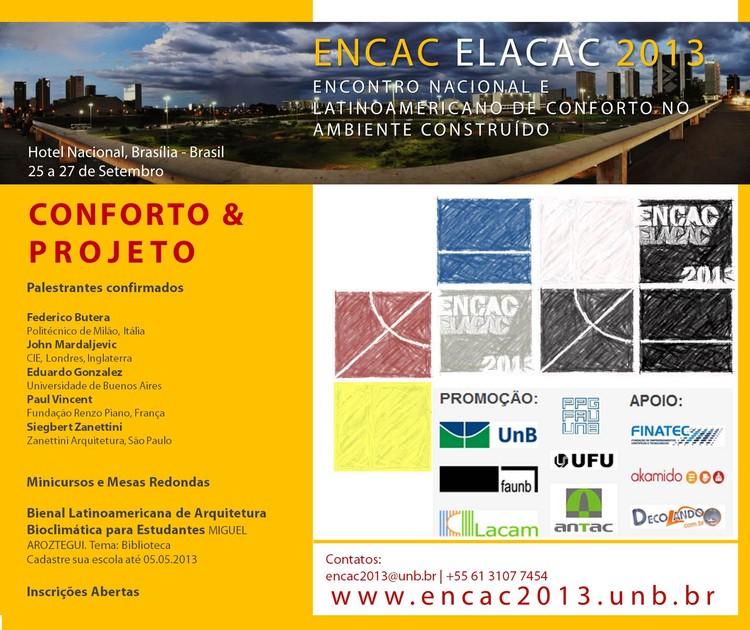 Encontro Nacional e Latinoamericano de Conforto no Ambiente Construído na FAU/UnB