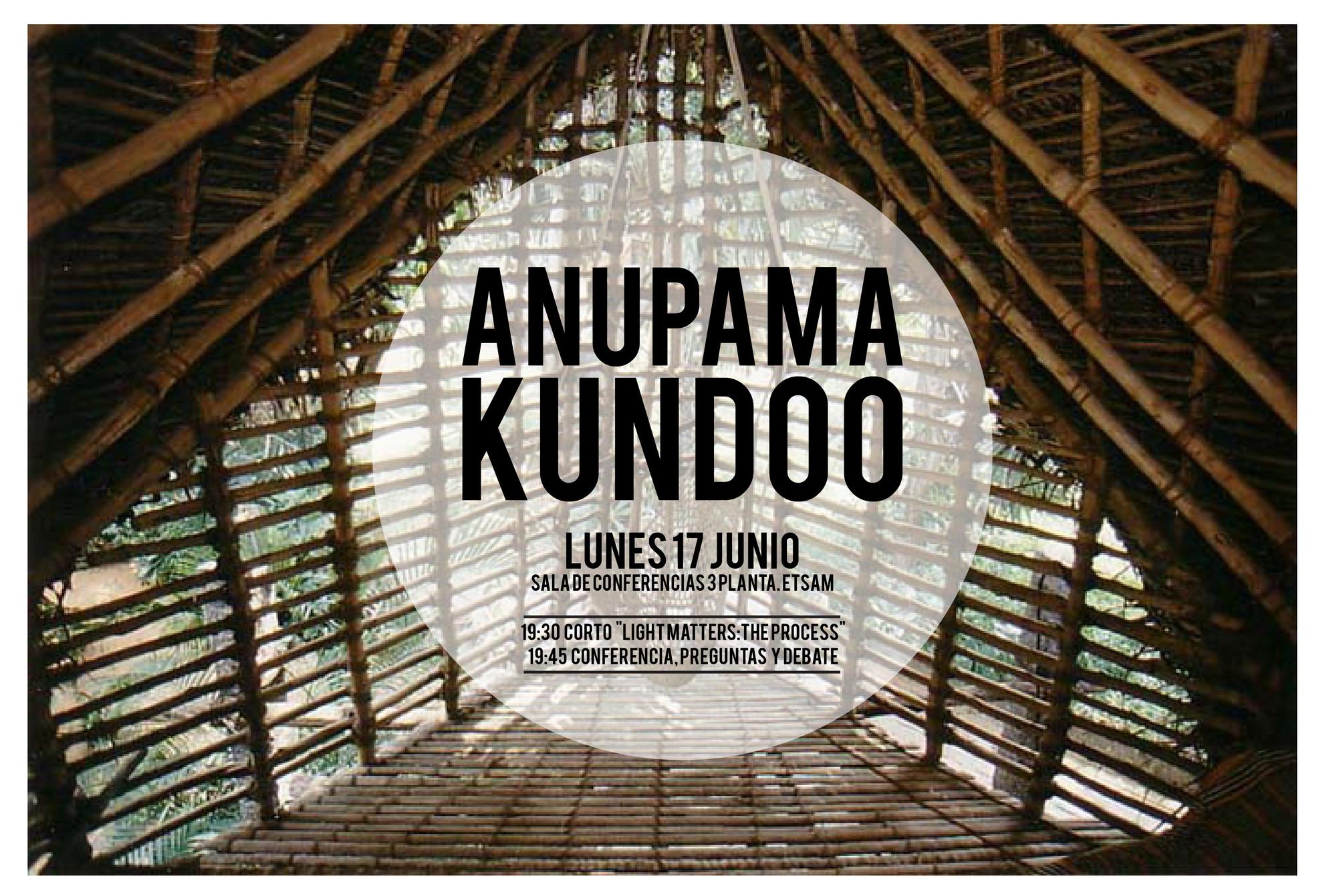 Conferencia de Anupama Kundoo en Madrid