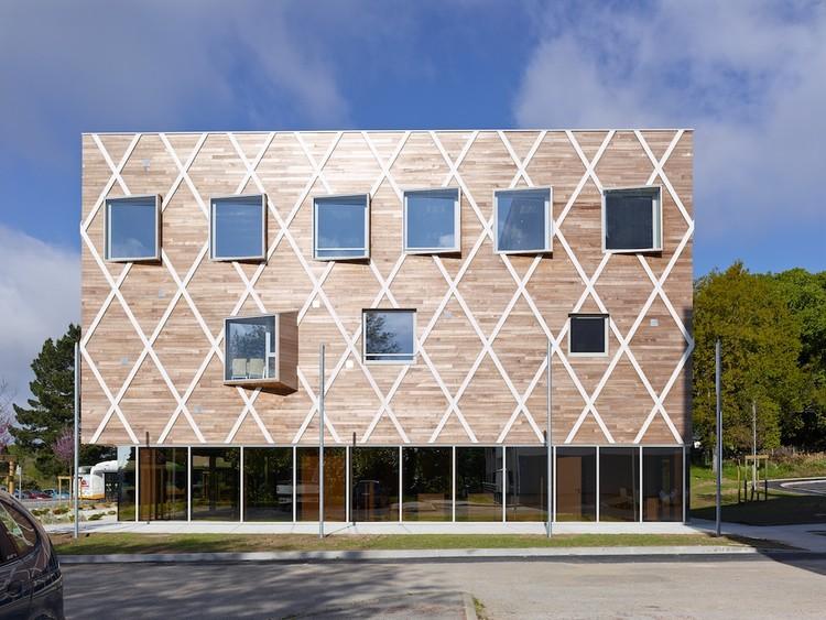 Ayuntamiento de Quinper / Guinée et Potin Architects, © Stéphane Chalmeau