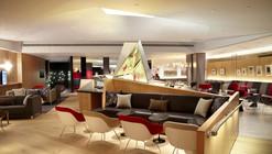 Virgin Atlantic EWR Clubhouse / Slade Architecture