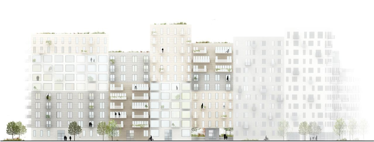 'Canal Houses': Aarhus Harbour Housing Project Winning ...