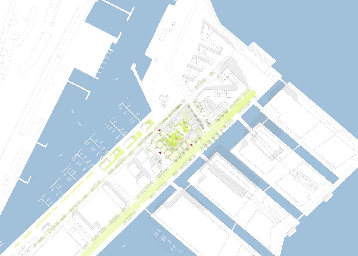 gallery of u0027canal houses u0027 aarhus harbour housing project winning