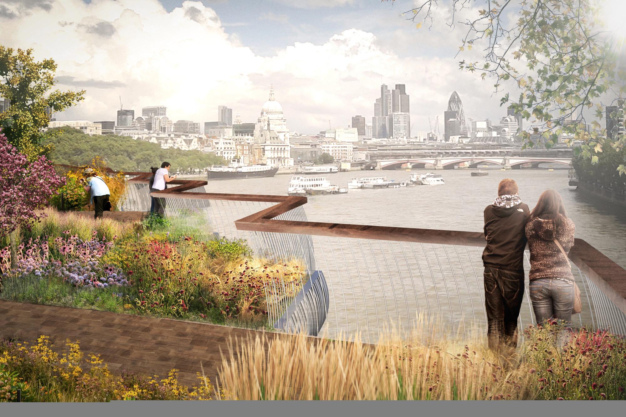 Thomas heatherwick bridge design