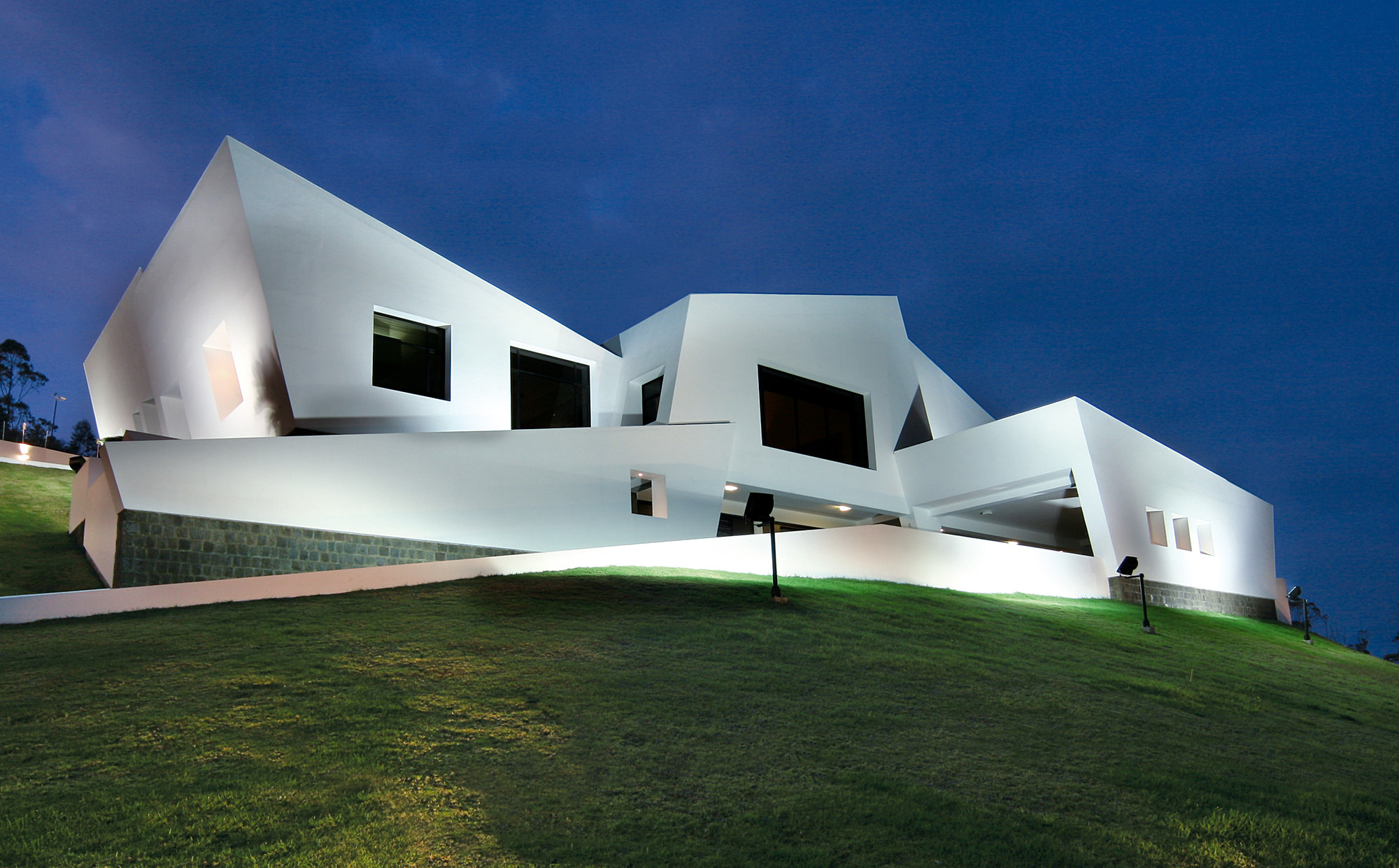 Guayasamin House and Museum / Diego Guayasamin, © Sebastián Crespo