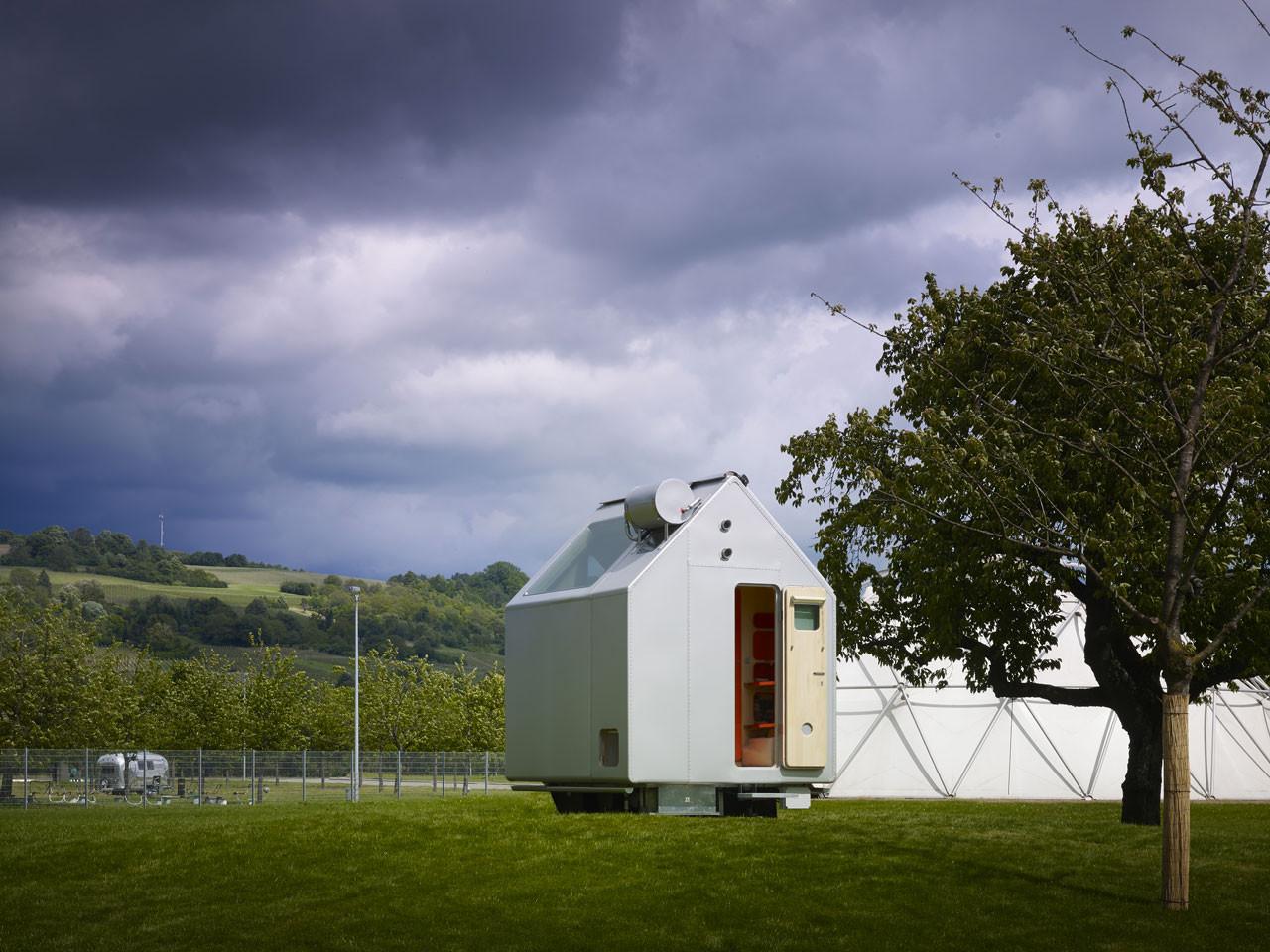 Galer a de renzo piano presenta diogene una cabina auto for 2 piani piano cabina storia