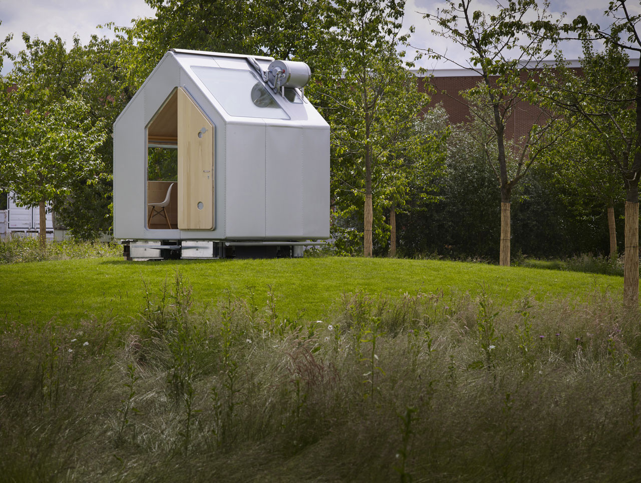 Renzo Piano presenta Diogene: una cabina auto-suficiente y desarmable para una persona, © Renzo Piano / Vitra