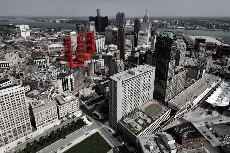 'Redesenhando Detroit: Uma nova visão para um lugar icônico' Proposta Vencedora / Davide Marchetti Architetto, Cortesia de Davide Marchetti Architetto