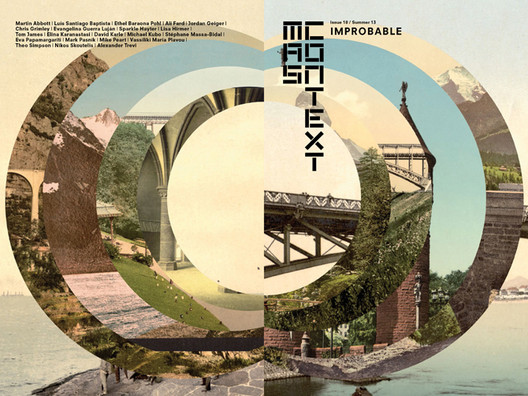 MAS Context #18: IMPROBABLE; Cover Design by Stephane Massa-Bidal