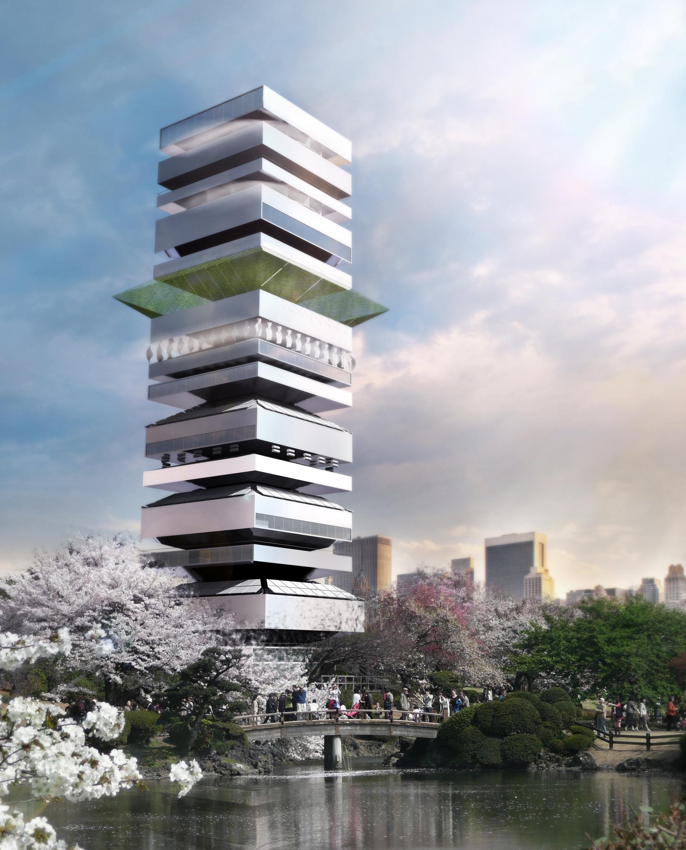 Sustentabilidad en Vertical: Propuesta de SZA para el Centro Cultural de Taichung