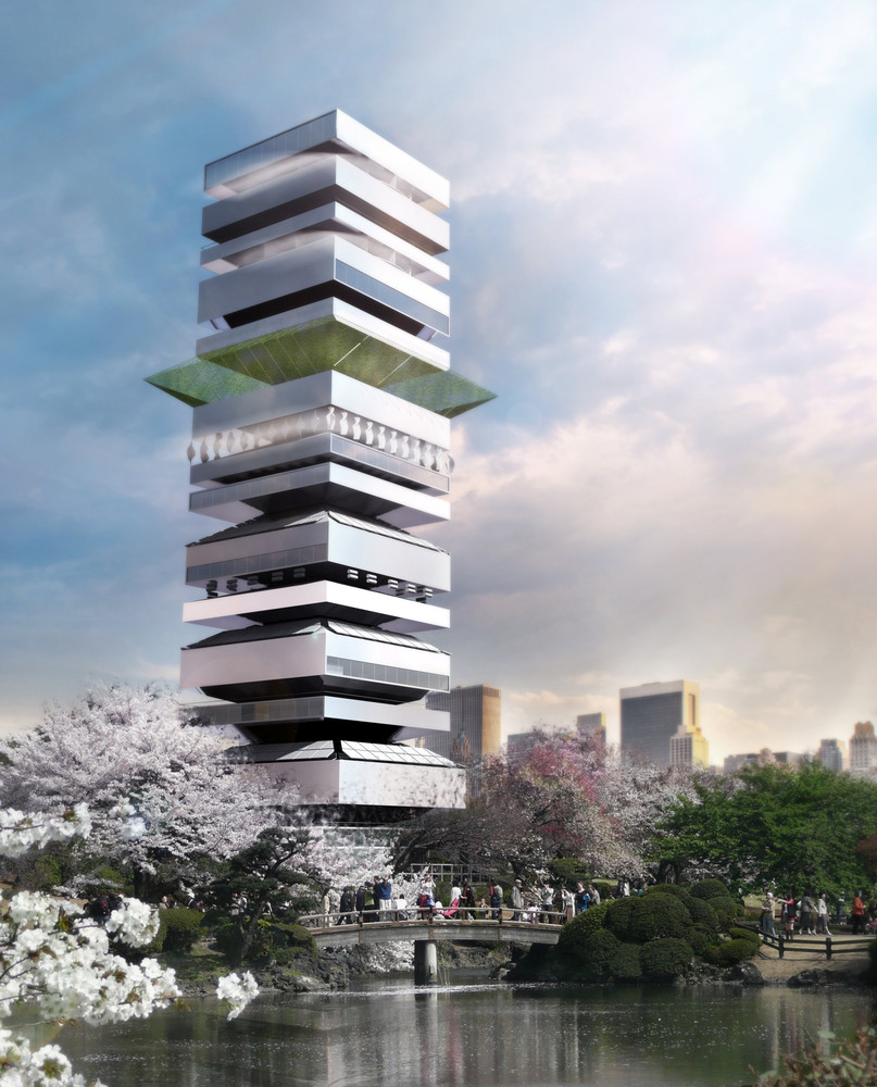 Awesome Taichung City Cultural Center Competition Entry,Courtesy Of SZA