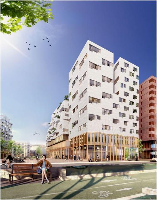 Proposta Vencedora para Edifício de Uso Misto em Paris / SOA Architectes, Cortesia de SOA Architectes