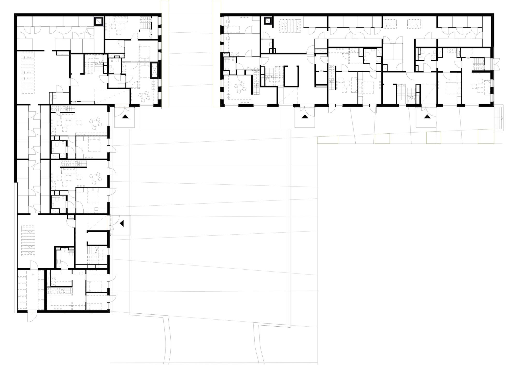 Spikerverket housing april arkitekter archdaily for Floor plans for 160 000