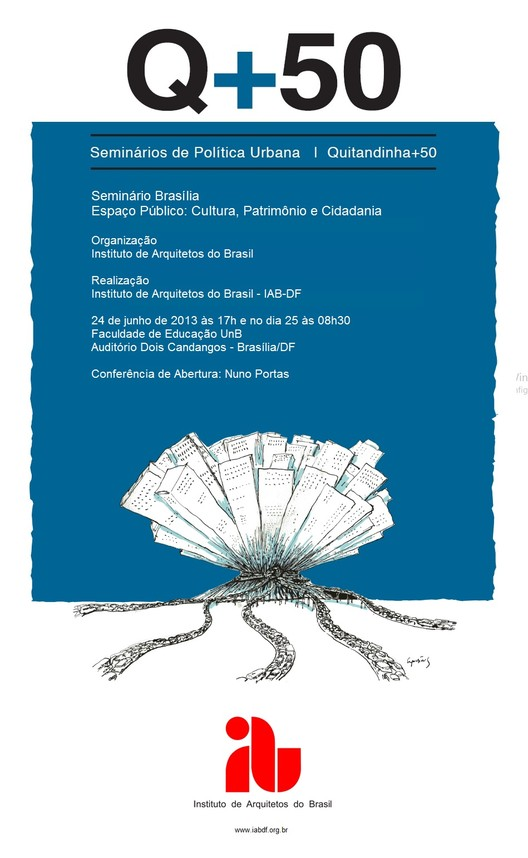 """QUITANDINHA + 50 BRASILIA - """"Espaço Público: Cultura, Patrimônio e Cidadania"""""""