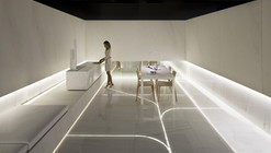 Blanc. Showroom l'antic colonial / Fran Silvestre Arquitectos