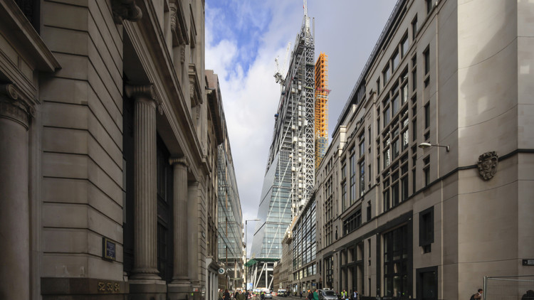 Em construção: Edíficio The Leadenhall  / Rogers Stirk Harbour + Partners, Cortesia de Rogers Stirk Harbour + Partners