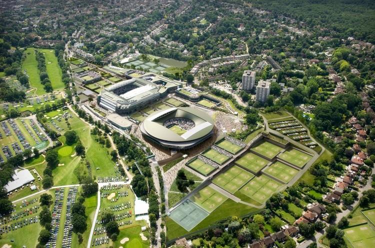 Proposta de Plano Diretor para Wimbledon / Grimshaw + Grant Associates, Cortesia de Grimshaw