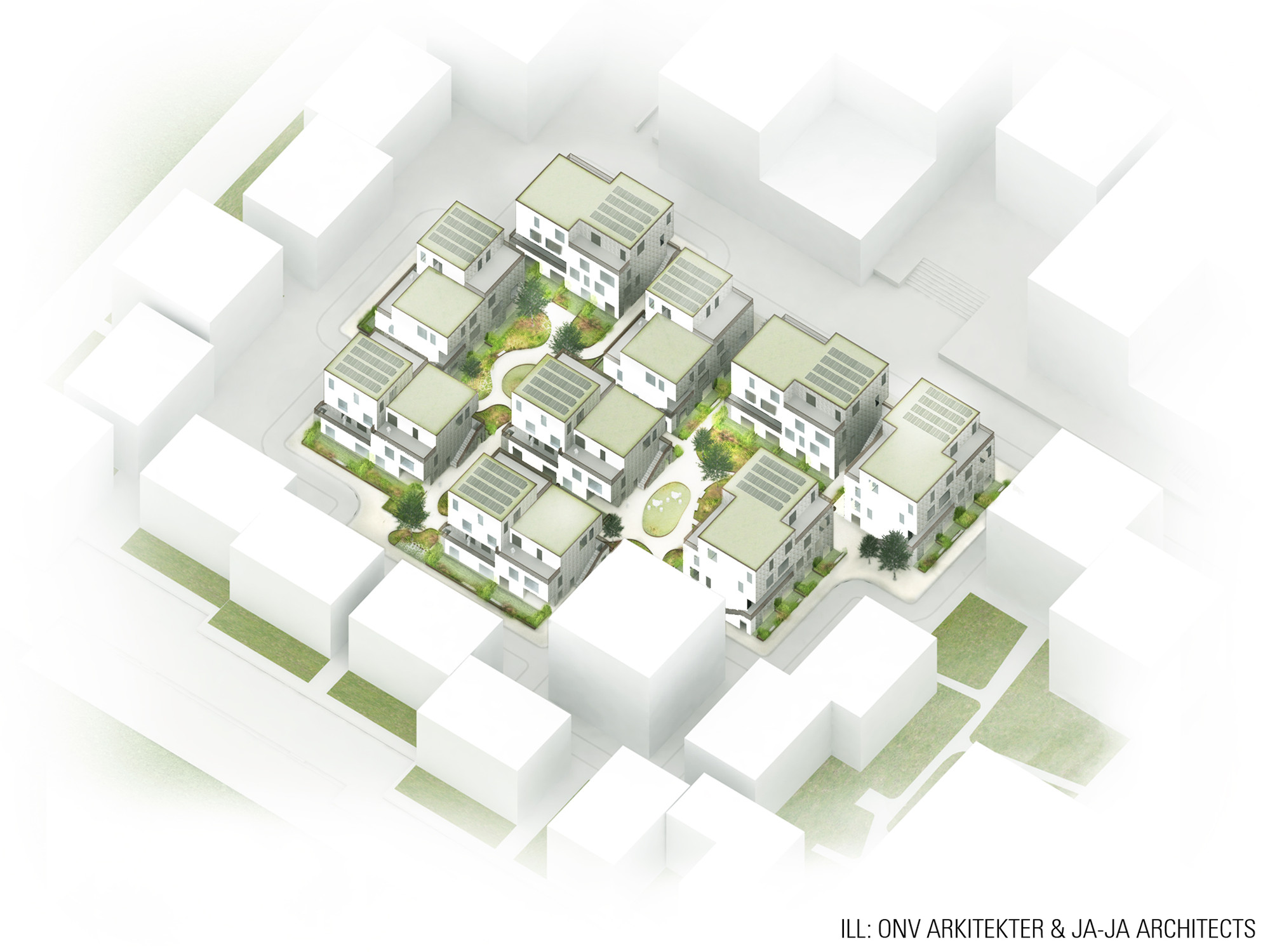 Gallery of AlmenBolig+ Affordable Housing Winning Proposal