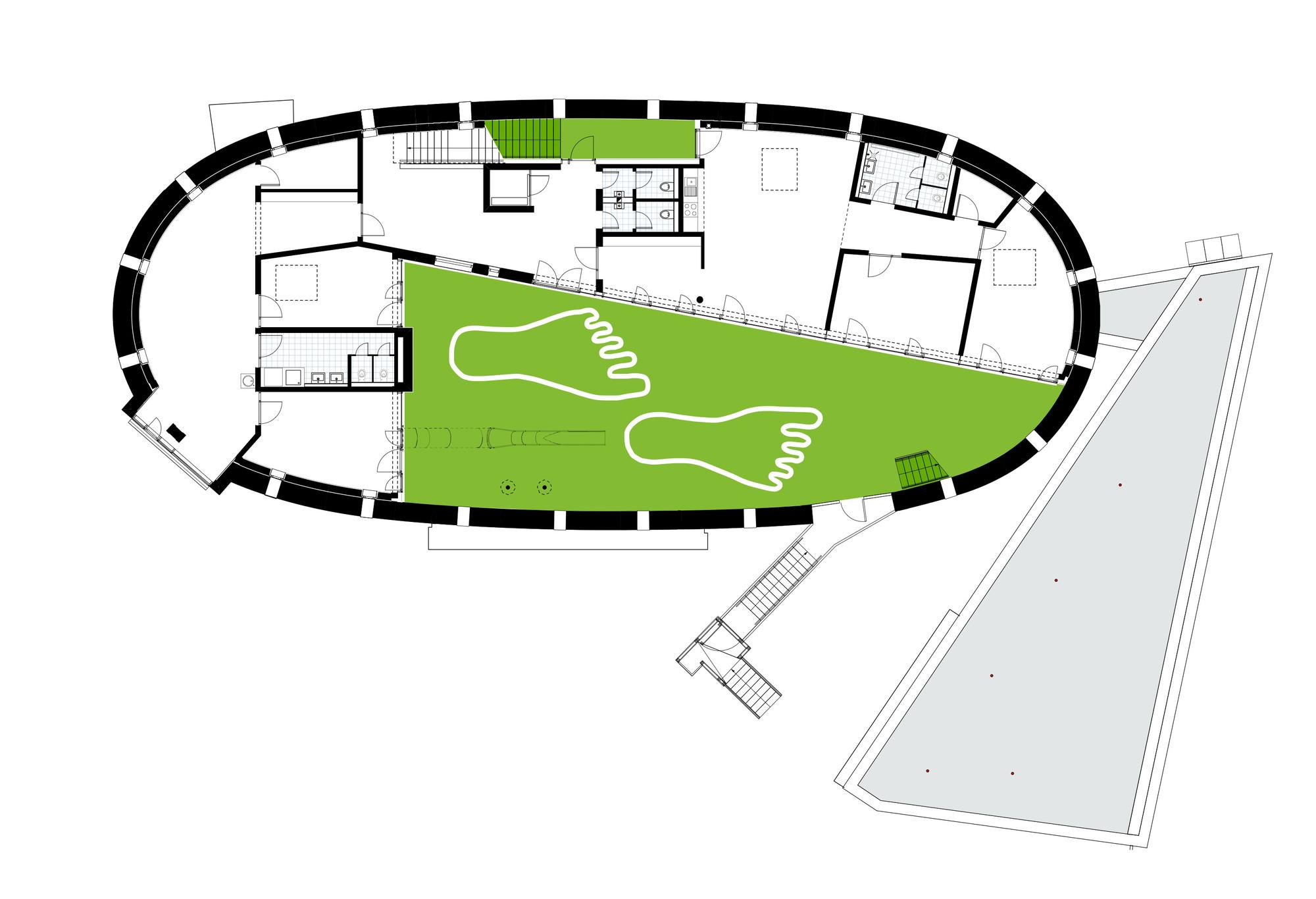 Educational Kitchen Floor Plan