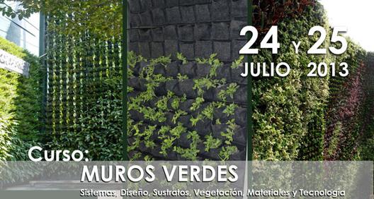Curso Muros Verdes: Sistemas, diseño, vegetación, materiales y tecnología / CAM-SAM, Courtesy of CAMSAM