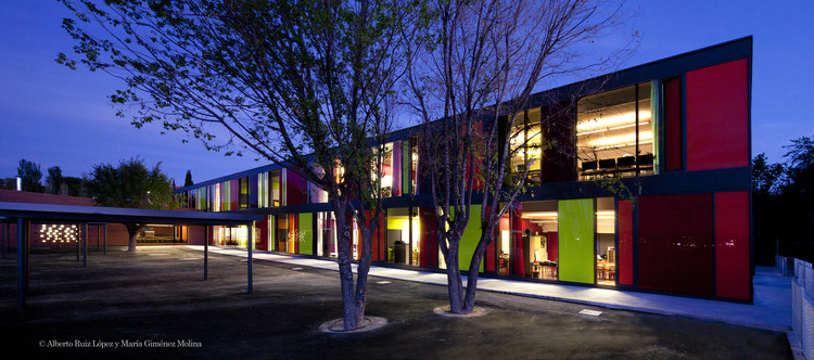 Renovation of the Saint Exupéry School / Argola Arquitectos + Flint Archicture, © Alberto Ruiz López & María Giménez Molina