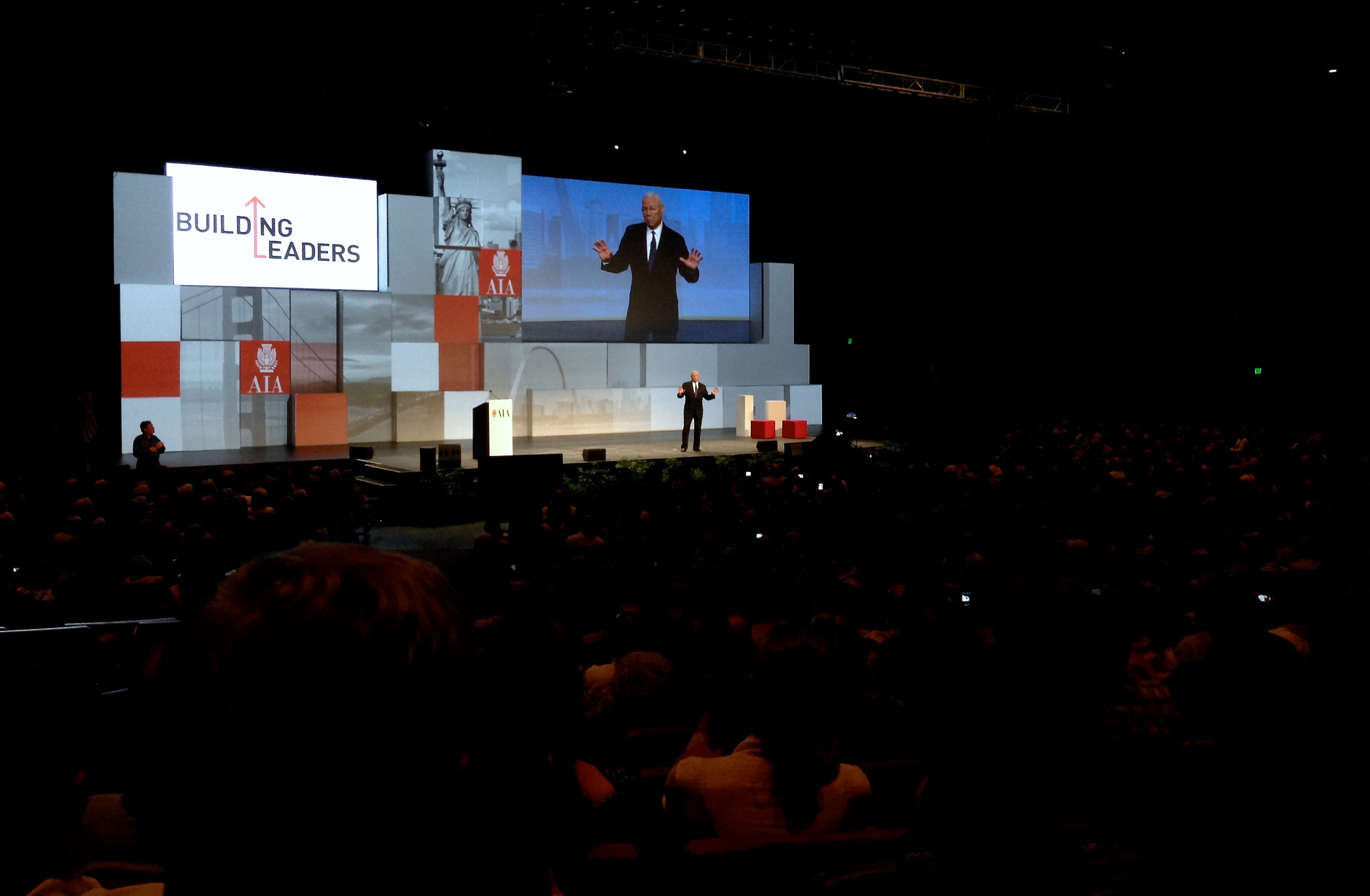 AIA 2013: Top Ten Lessons of Leadership by General Colin Powell