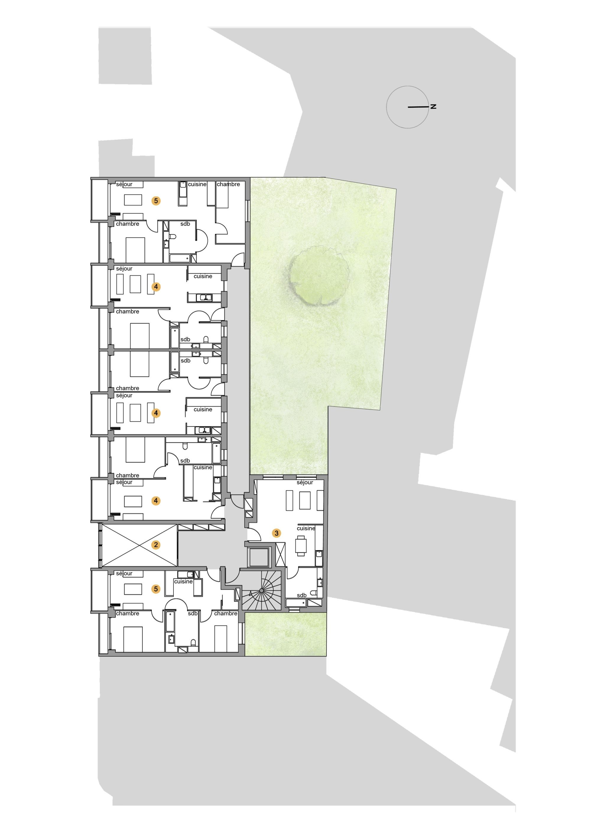 gallery of plein soleil rh architecture 29. Black Bedroom Furniture Sets. Home Design Ideas