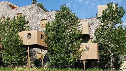 The Building that Grows / Eduard Francois © Nicolas Borel