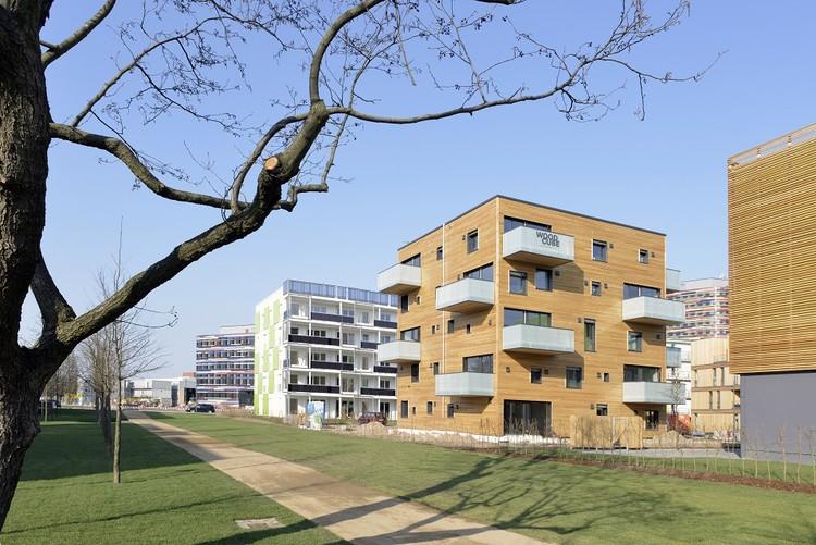 Woodcube / architekturagentur, © Martin Kunze