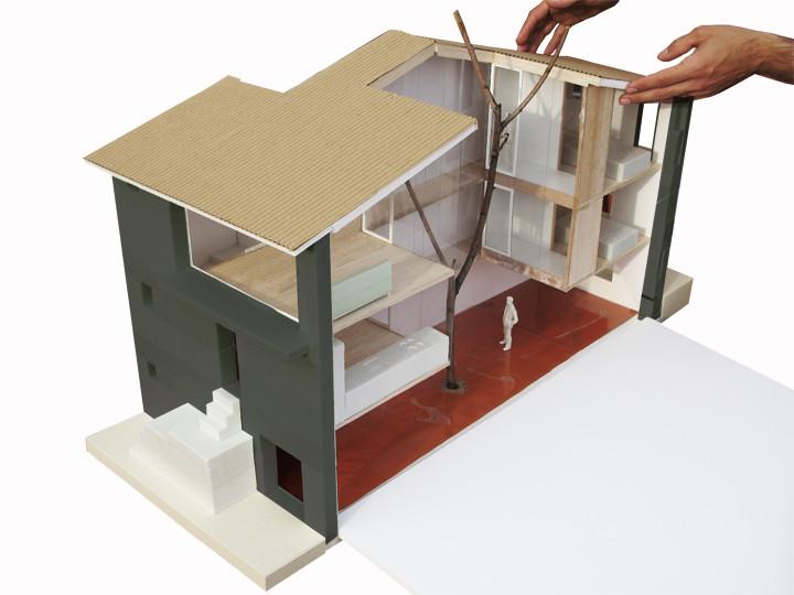 Gallery of casa luz arquitectura g 14 for Arquitectura casas pequenas