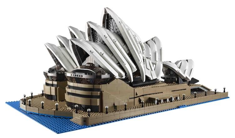LEGO® lança novo modelo da Ópera de Sydney, © The LEGO® Group