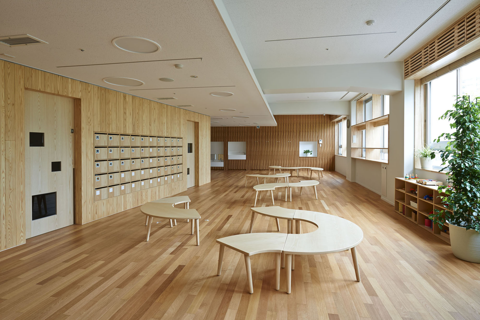 Designing A House Floor Plan Gallery Of Mokumoku Kindergarten 16a Inc 3