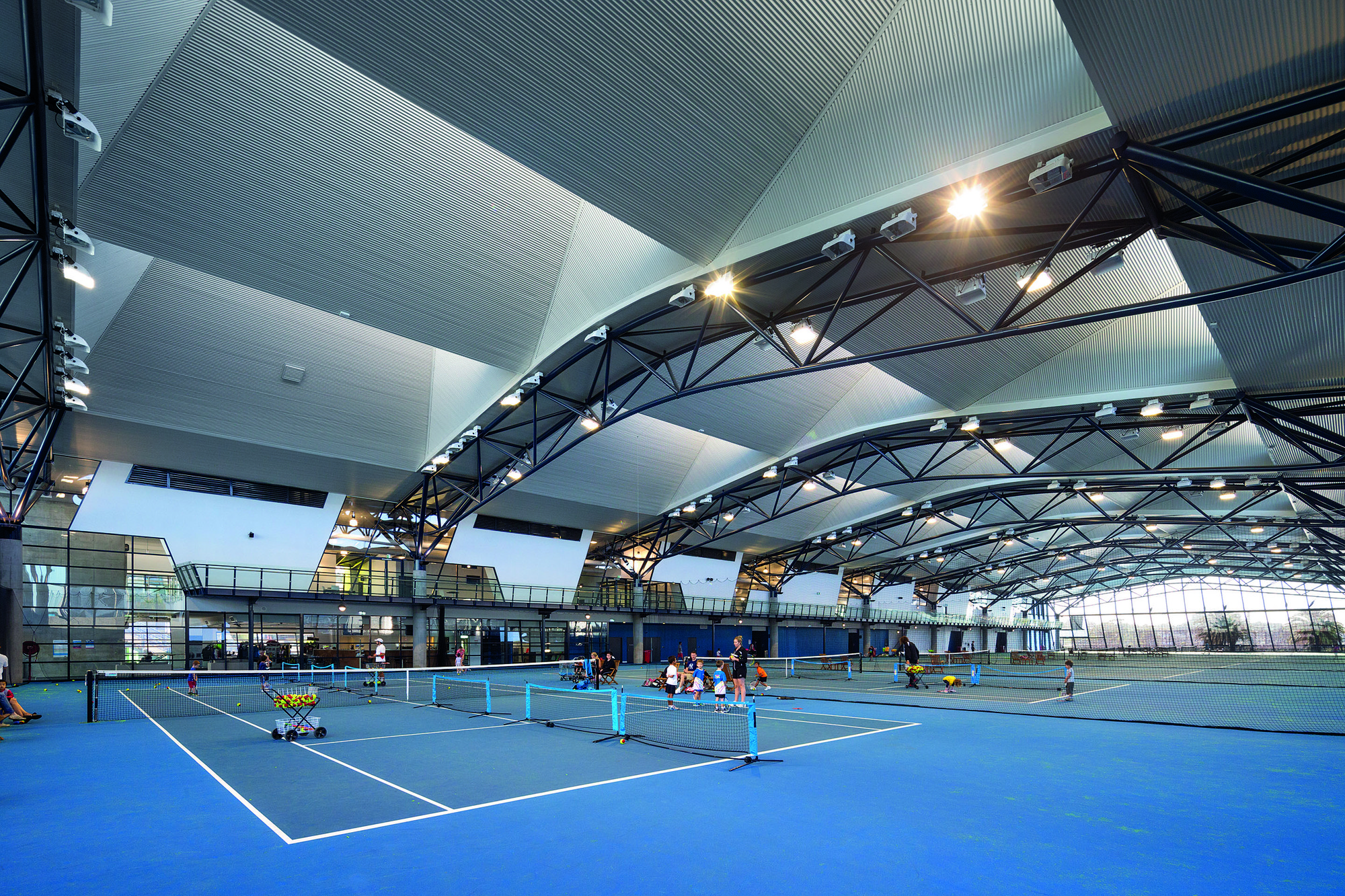 Gallery Of National Tennis Centre Jackson Architecture 4