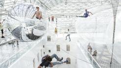 """Arte y Arquitectura: Instalación """"en órbita"""" por Tomás Saraceno"""