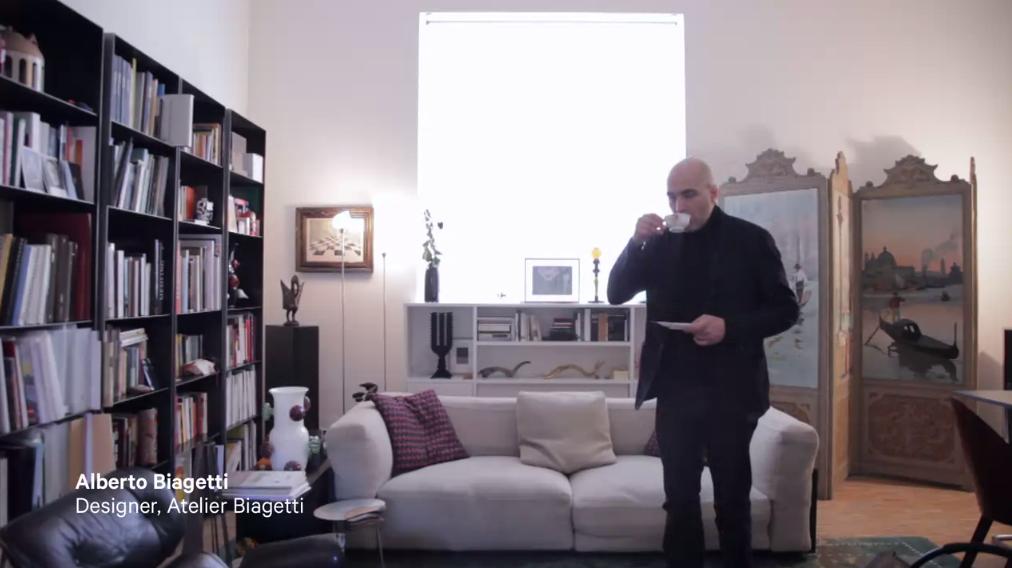 Video: Alberto Biagetti