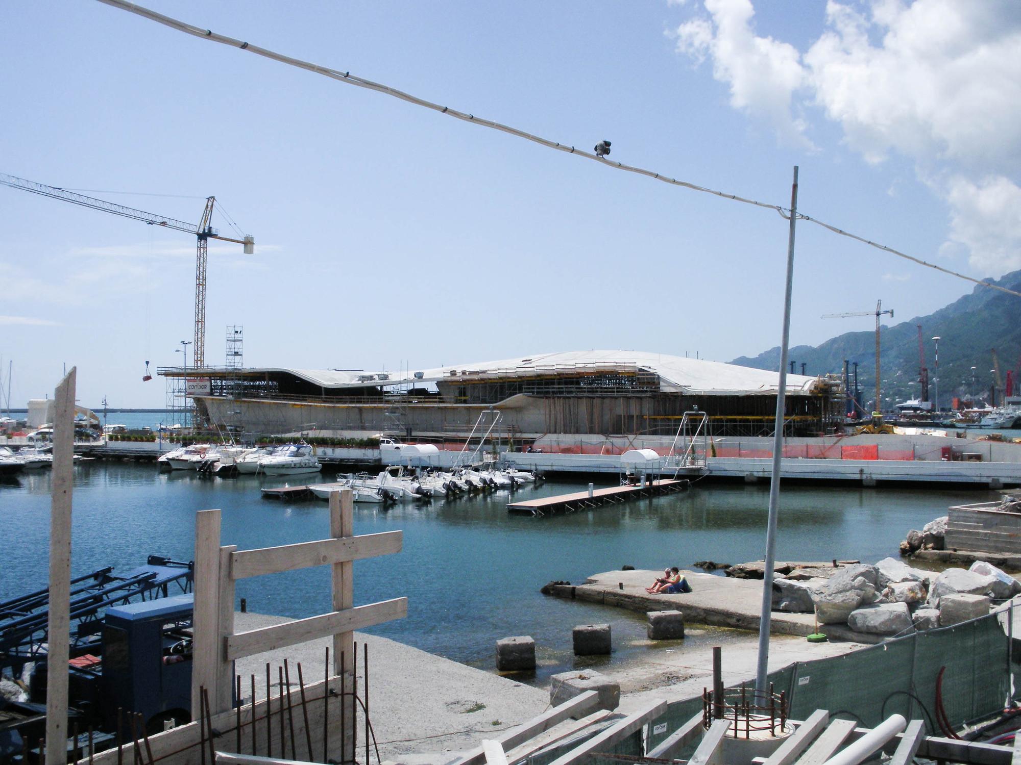 En Construcción: Terminal Marítimo Salerno / Zaha Hadid Architects, © Pablo Ochoa