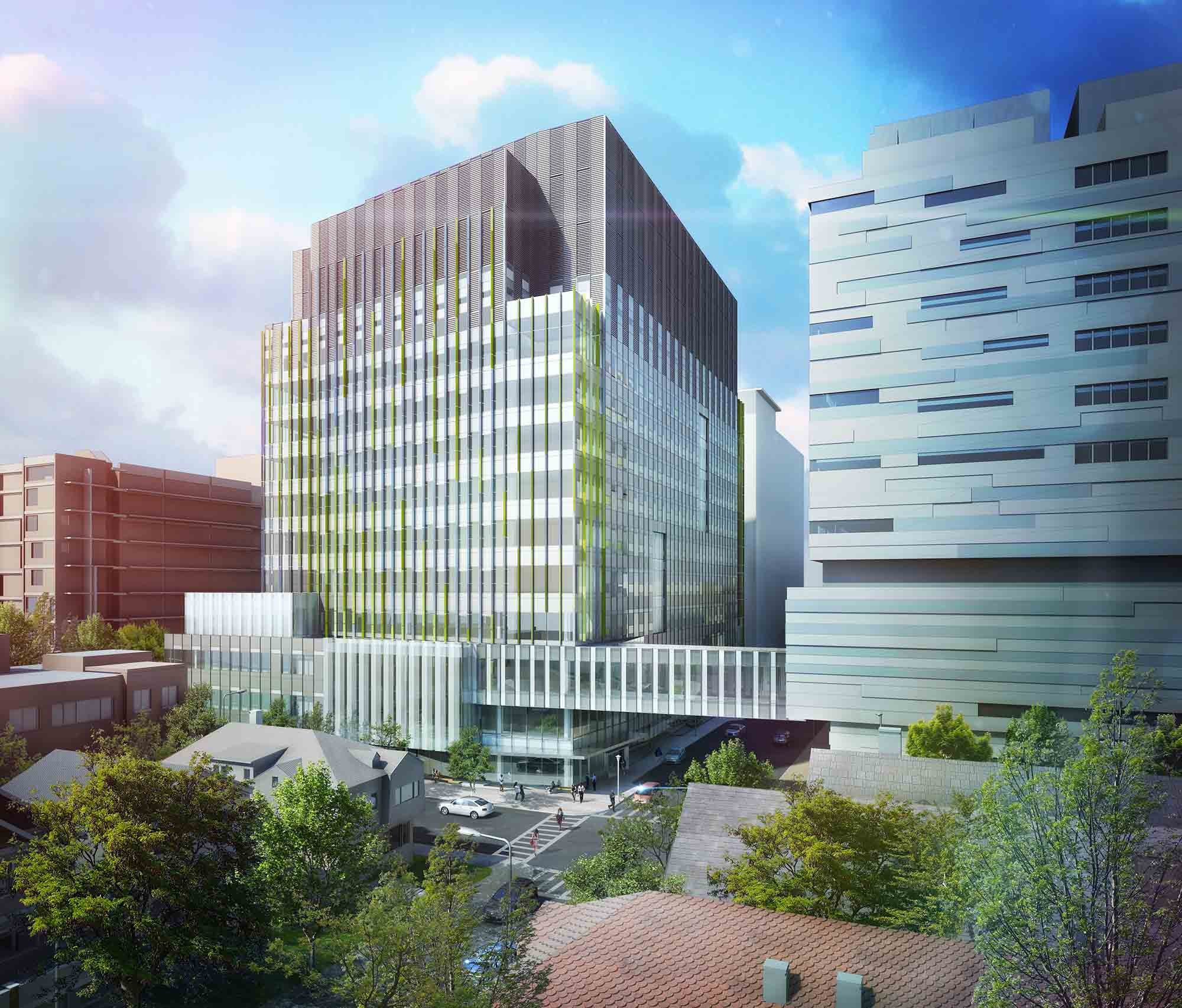 Brigham Building for the Future Proposal / NBBJ | ArchDaily