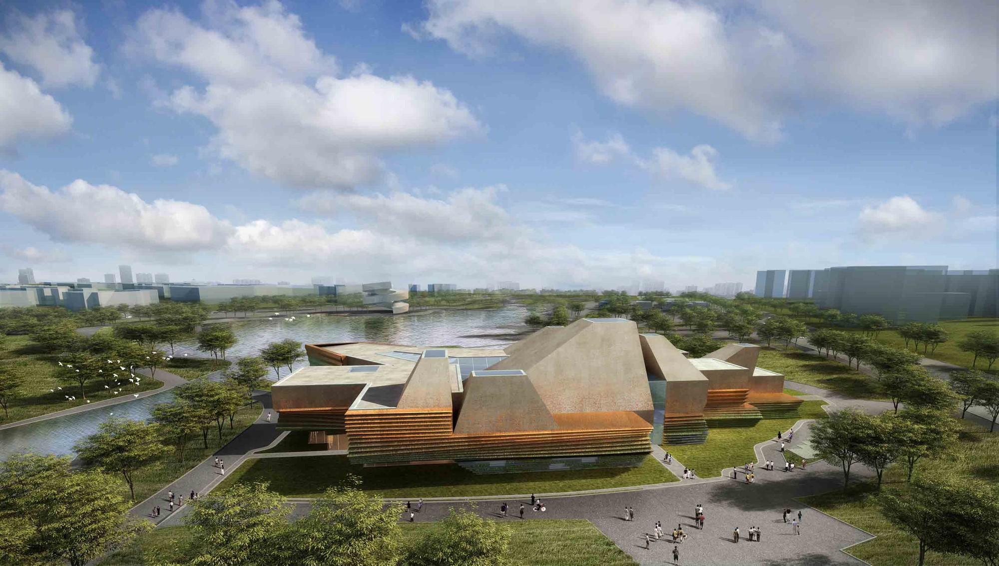 Tonglin City Planning Exhibition Center Winning Proposal / Waa