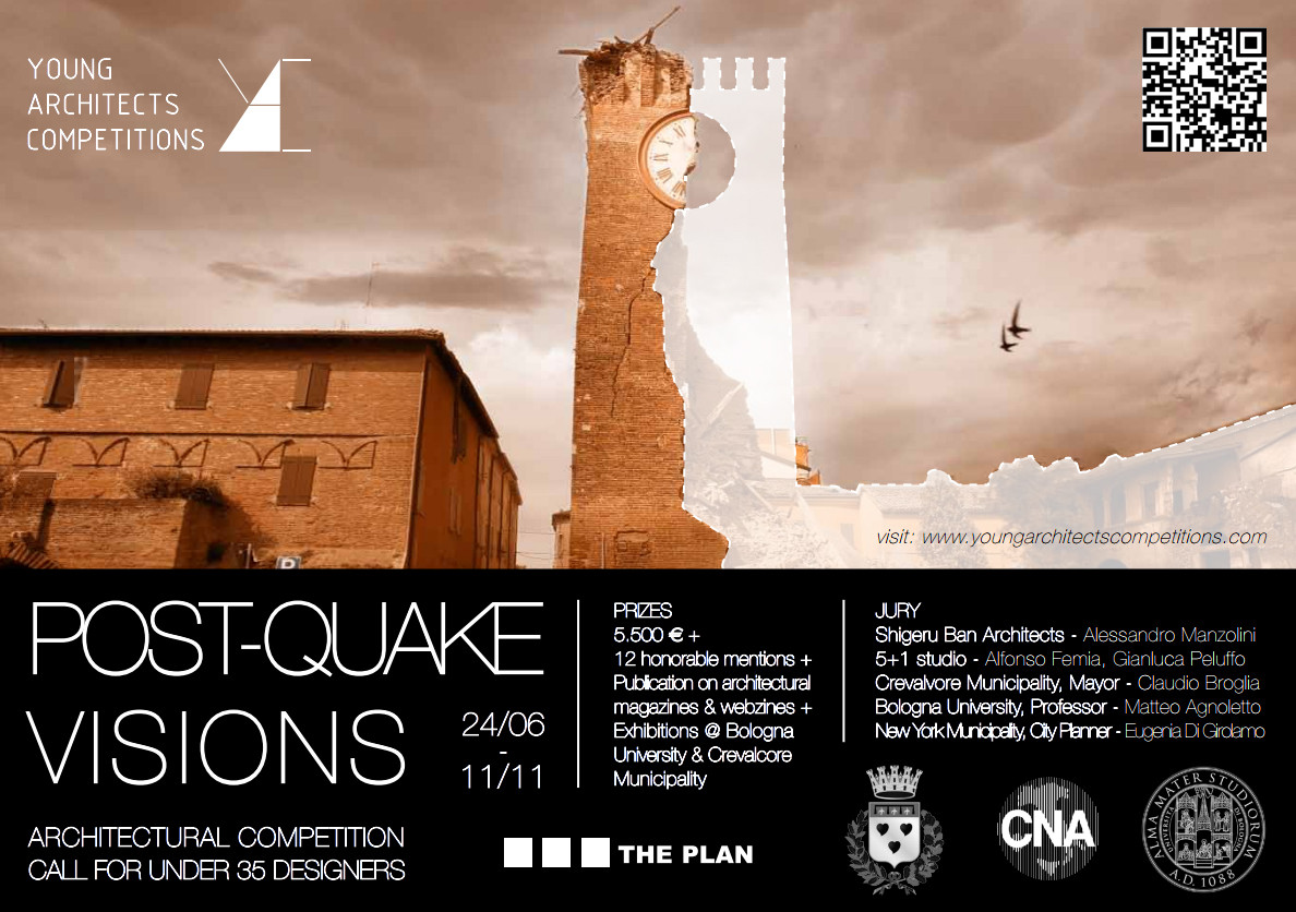 Young Architect's Competition: 'Post-Quake Visions', Courtesy of YAC