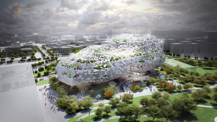 Taichung City Cultural Center Competition Entry / RMJM, Courtesy of RMJM