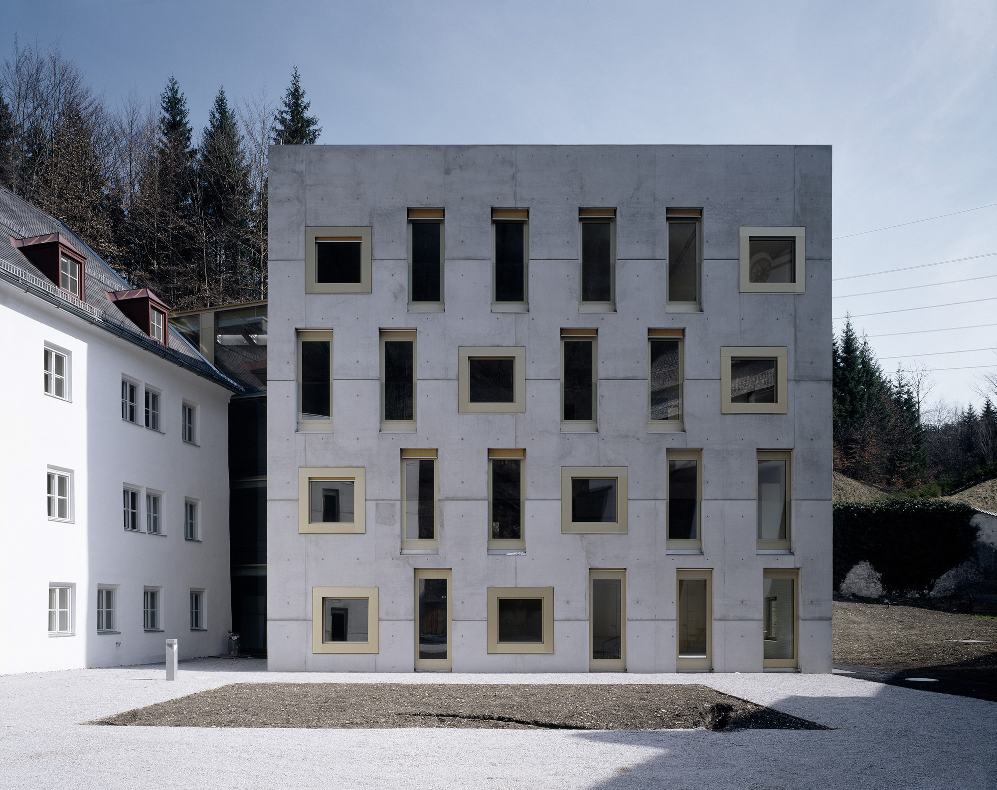 Special School and Dormitory Mariatal / Marte Marte Architects, © Bruno Klomfar