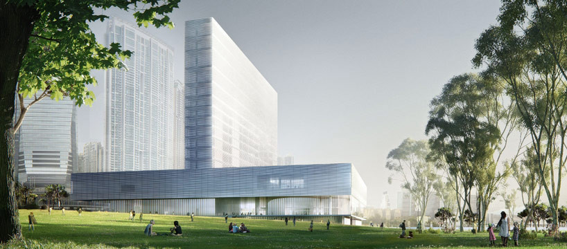 Herzog & de Meuron Win Competition to Hong Kong Museum , Courtesy of Herzog & de Meuron