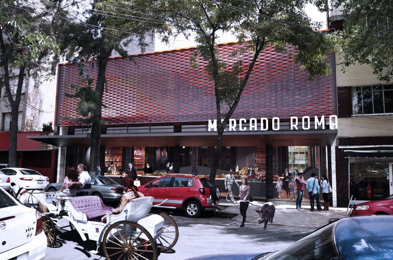 Mercado Roma Proposal / Rojkind Arquitectos, © Rojkind Arquitectos