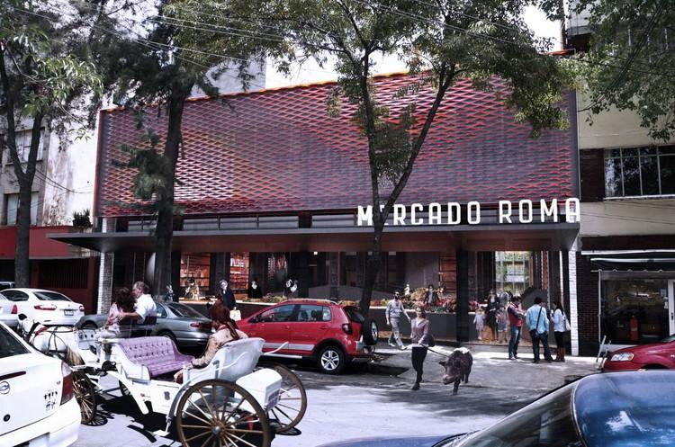 Mercado Roma / Rojkind Arquitectos, Cortesia de Rojkind Arquitectos