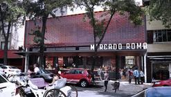 Mercado Roma Proposal / Rojkind Arquitectos