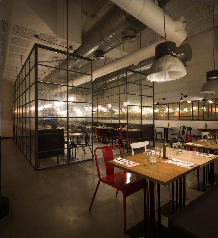 Restaurant Ginos / IlmioDesign