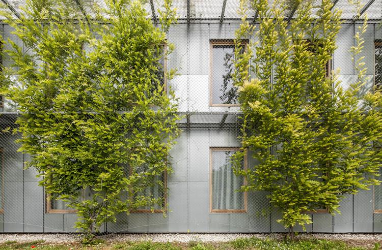 57 Viviendas Universitarias en el Campus de la ETSAV / dataAE + H ARQUITECTES, © Adrià Goula