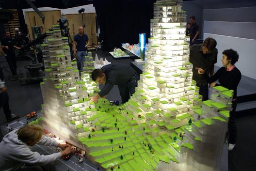 Lego Tower. Image courtesy of BIG